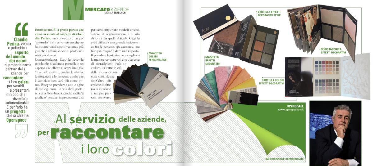 Intervista a Claudio Perina su Colore & Hobby
